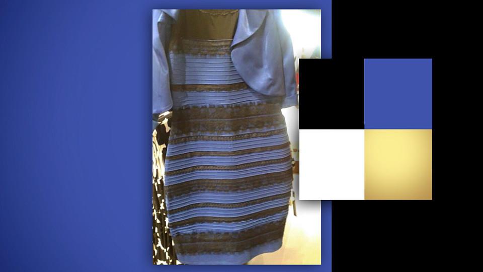 Ist Das Kleid Blau Schwarz Oder Weiß Gold