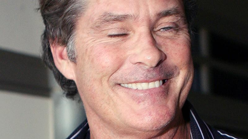 David Hasselhoff: Blau in die Klinik!