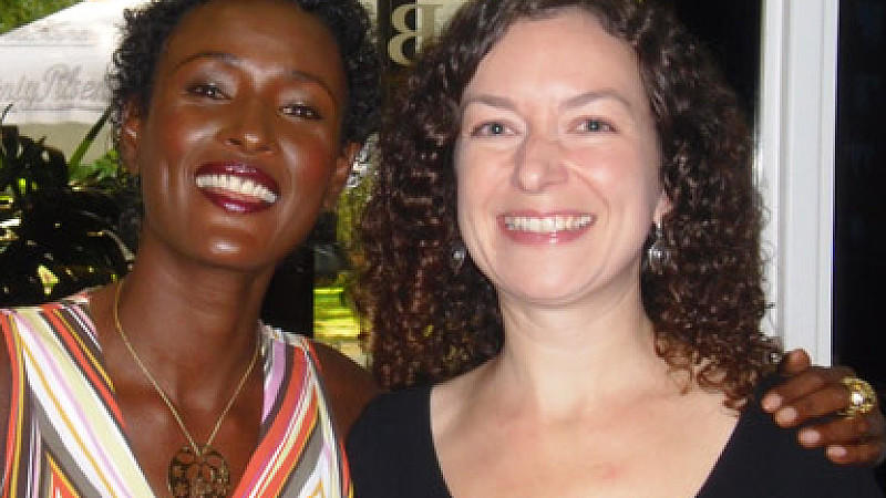 Interview mit Waris Dirie