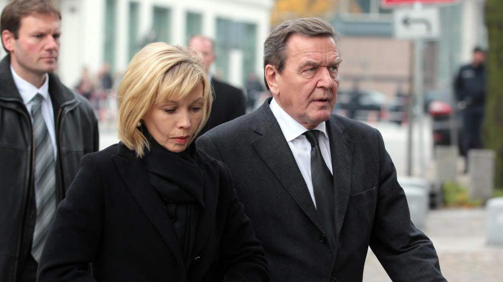 Gerhard Schröder hat sich von seiner Frau getrennt