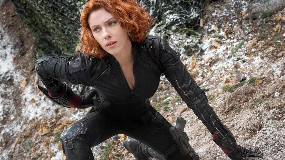 Scarlett Johansson in Marvel's 'The Avengers - Age of Ultron'