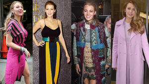 Blake Lively mit Look-Marathon zur Fashion-Ikone