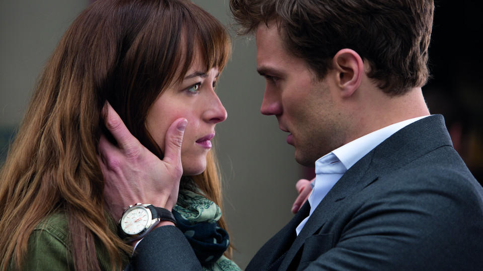 Dakota Johnson und Jamie Dornan in 'Fifty Shades of Grey'