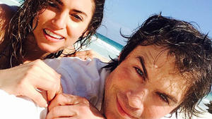 Ian Somerhalder hat seine Nikki Reed geheiratet