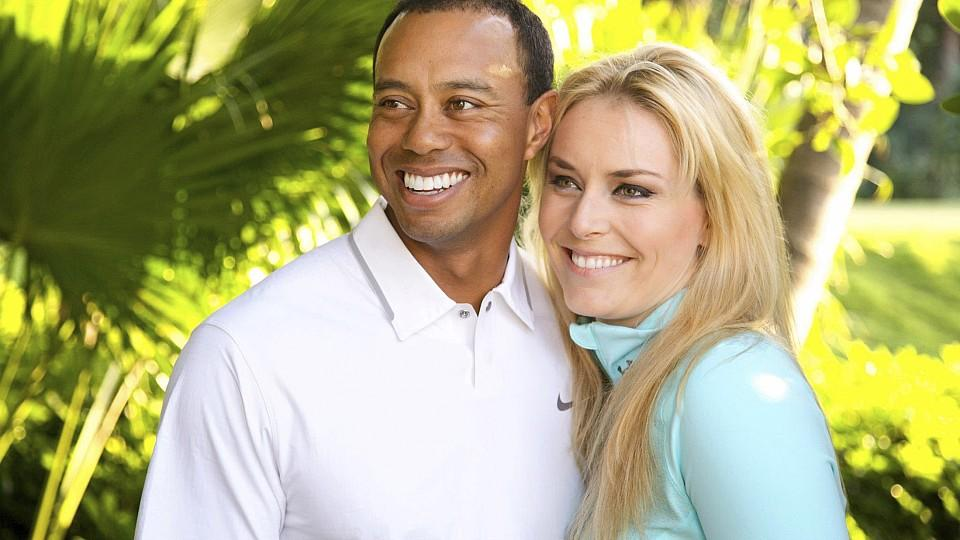 Golfer Tiger Woods and downhill skier Lindsey Vonn pose in this undated handout photo made available on www.tigerwoods.com. Woods announced on his website on Monday that the two are dating and has asked that their privacy is respected. REUTERS/Tiger