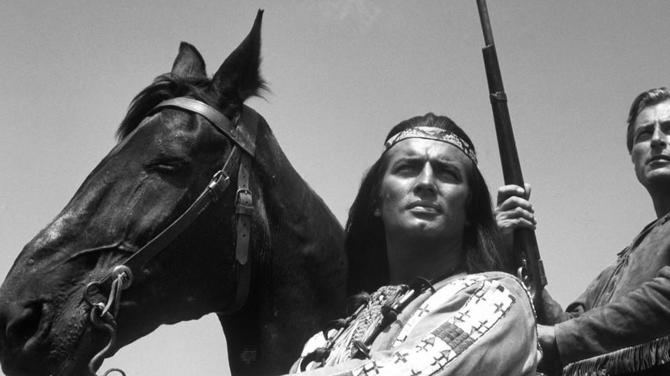 Pierre Brice in 'Winnetou'