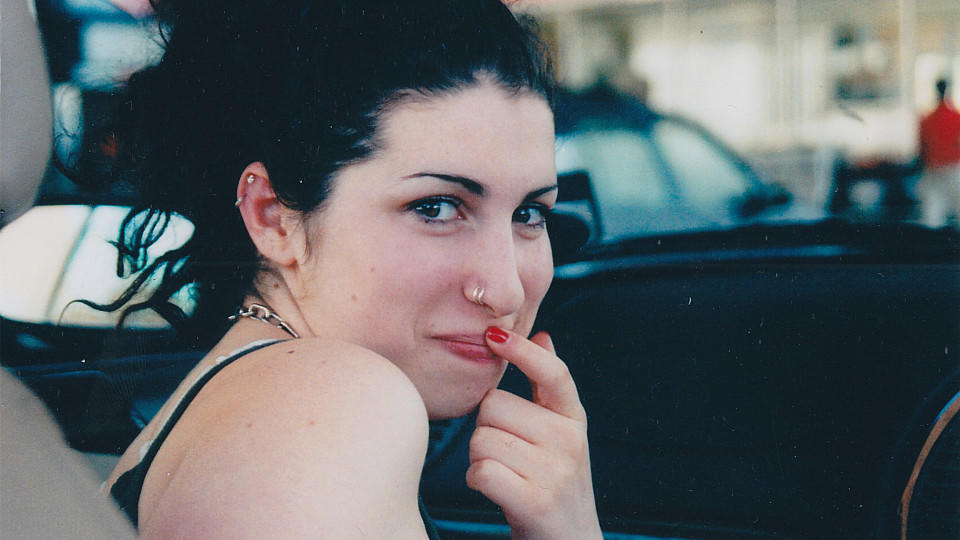 Amy Winehouse als Teenager.