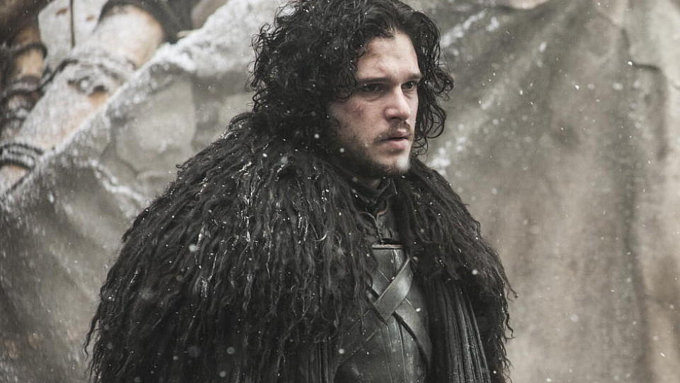 'Jon Snow'-Darsteller Kit Harington mit Bart bei 'Game of Thrones'.