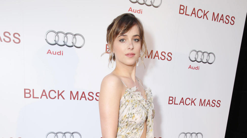 "Dakota Johnsons ""Pfirsiche und Cream""-Look"