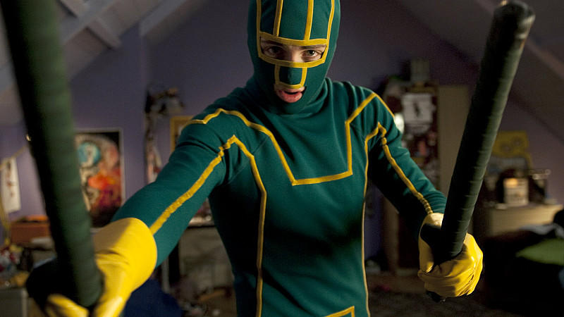 'Kick-Ass': Möchtegern-Superhelden in Neoprenanzügen