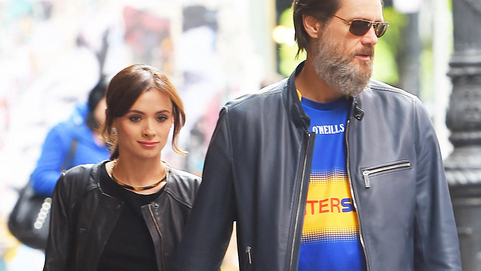 Cathriona White und Jim Carrey im Mai 2015 in New York