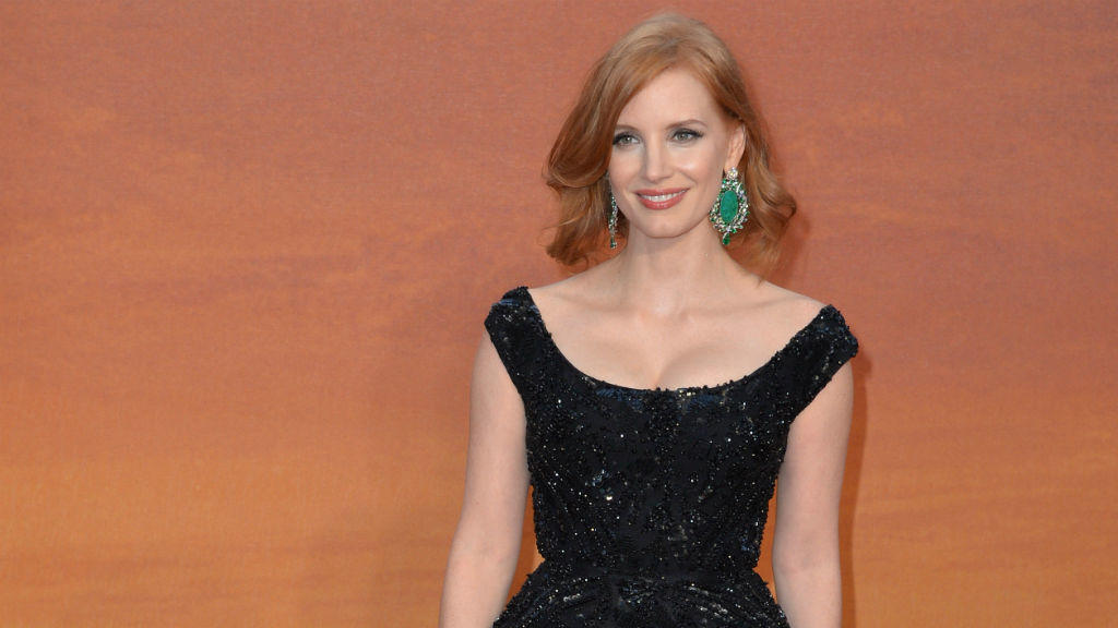 Jessica Chastain: Gestresst in Cannes