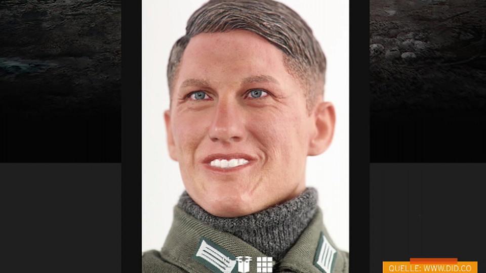 Schweinsteiger Nazi Puppe