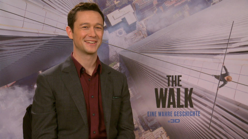 Joseph Gordon-Levitt zu 'The Walk'