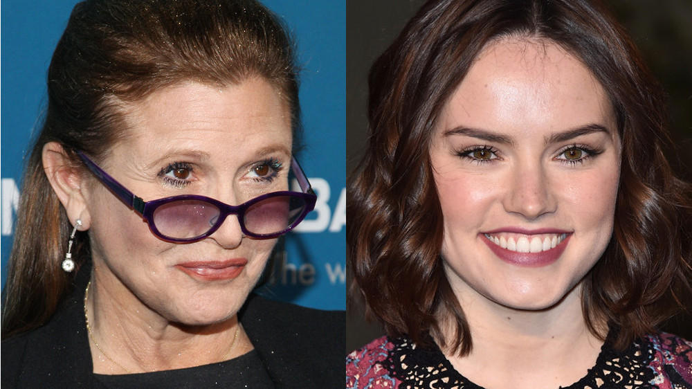 "Carrie Fisher warnt ""Star Wars""-Co-Star Ridley"