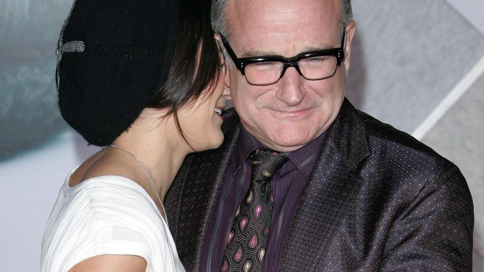 Emotionales Interview: Witwe Susan Schneider spricht über Robin Williams' Tod.