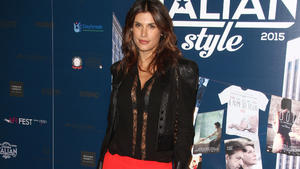 Elisabetta Canalis zeigt ihren After-Baby-Body