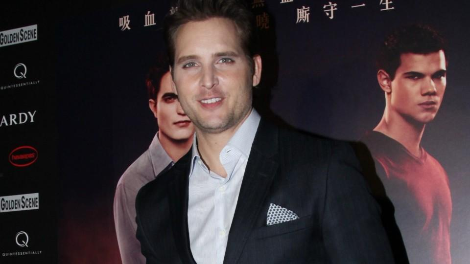 Peter Facinelli in Hong Kong