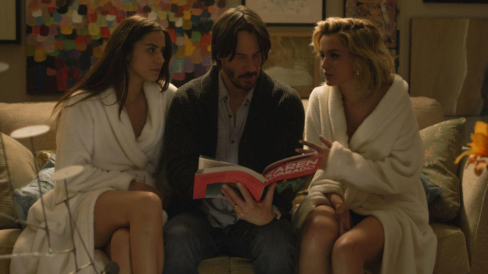 Ana de armas lorenza izzo in knock knock - 1 part 7