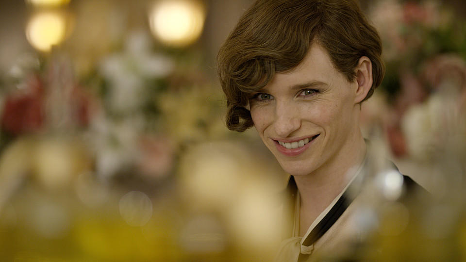 Eddie Redmayne in dem Drama 'The Danish Girl'.