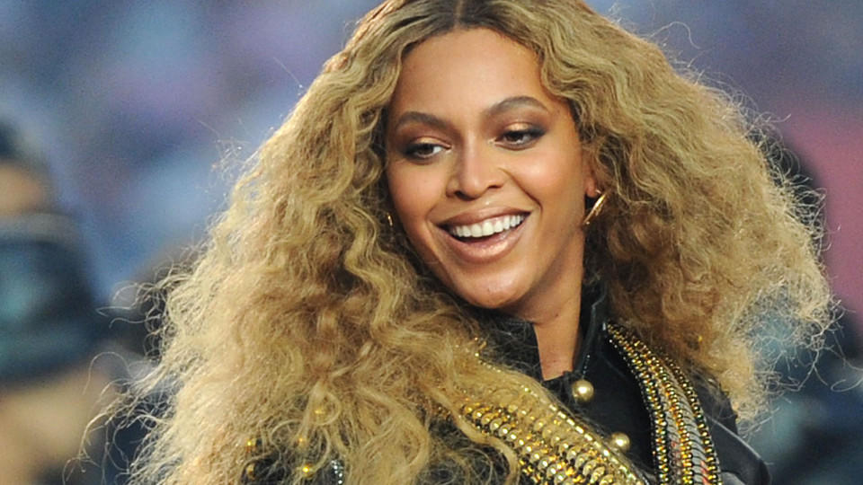 Beyoncé beim Super Bowl