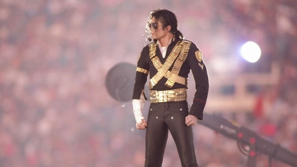 Michael Jackson beim Super Bowl 1993