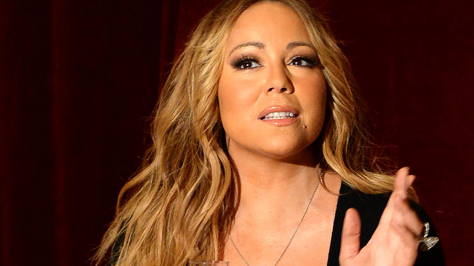 NEW YORK, NY - JUNE 09:  Singer Mariah Carey announces the launch of her Go N'Syde bottle 'Butterfly' at the Saint Regis Hotel on June 9, 2014 in New York City.  (Photo by Andrew H. Walker/Getty Images)