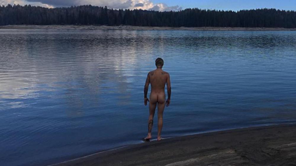 Blauen nackt see am Aus Pics