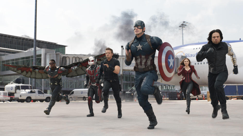 """The First Avenger: Civil War"": Fünftstärkster Start aller Zeiten"