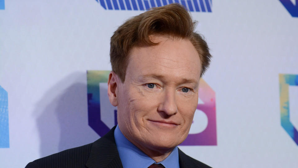 Conan O'Brien auf dem Event des Senders TBS 'A Night Out With'