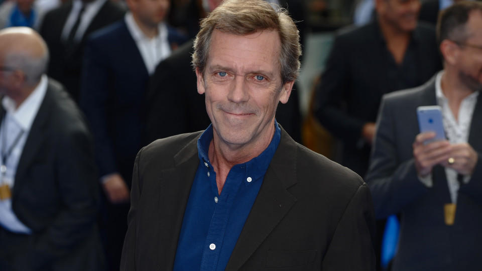 Hugh Laurie bei einer Filmpremiere in London