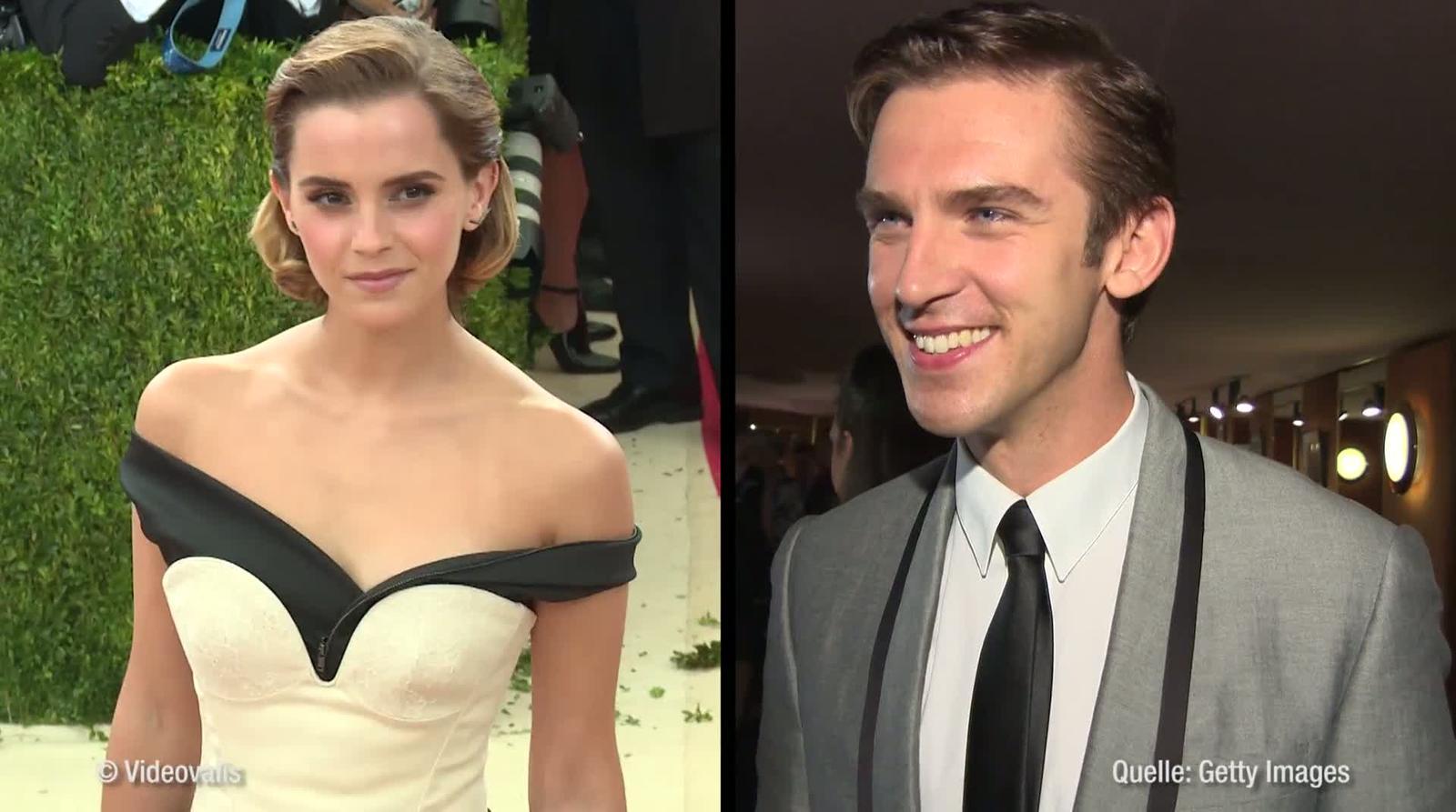 Die Schöne Und Das Biest Emma Watson Und Dan Stevens übernehmen
