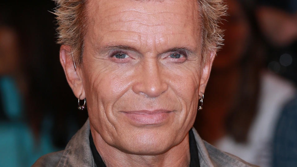 Rockmusiker Billy Idol