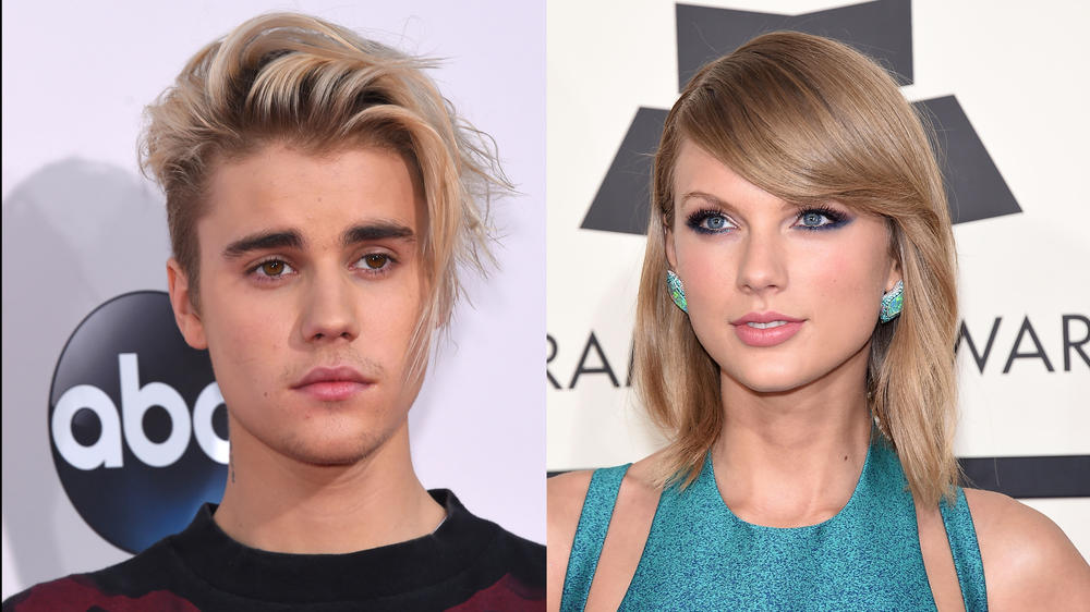 Justin Bieber covert Taylor Swift