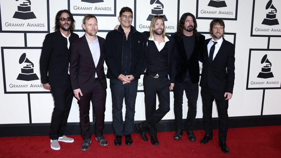 Die amerikanische Band 'Foo Fighters'