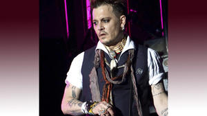 Johnny Depp ändert Liebes-Tattoo