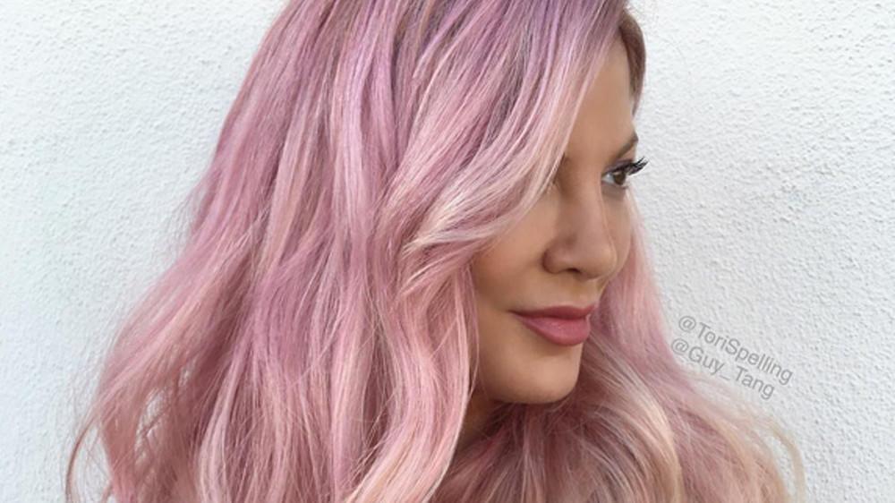 Bye Bye Blond Tori Spelling Hat Jetzt Pinke Haare