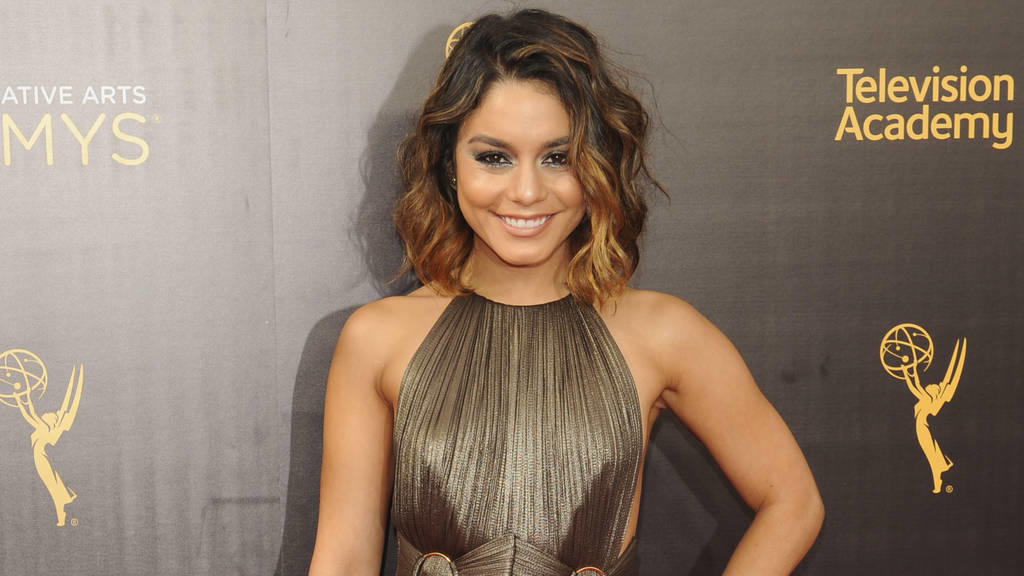 Vanessa Hudgens: Ein Star in Metallic