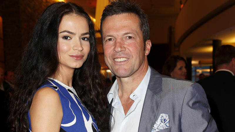 BERCHTESGADEN, GERMANY - MAY 08:  Lothar Matthaeus and his wife Anastasia during the Kempinski Hotel Berchtesgaden opening party on May 8, 2015 in Berchtesgaden, Germany.  (Photo by Dominik Bindl/Getty Images)