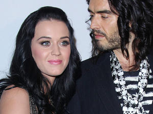 Katy Perry hat ihren Russell Brand geheiratet