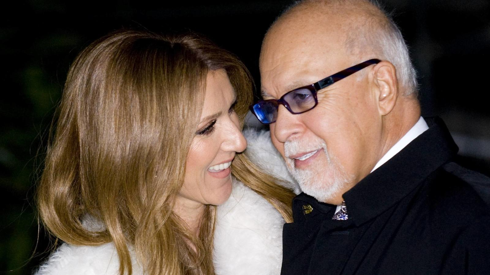 Celine Dion mit Ehemann Rene Angelil in Paris -  JBAutissier/Panoramic PUBLICATIONxNOTxINxFRAxITAxBELCeline Dion with Husband René Angelil in Paris JBAutissier Panoramic PUBLICATIONxNOTxINxFRAxITAxBEL