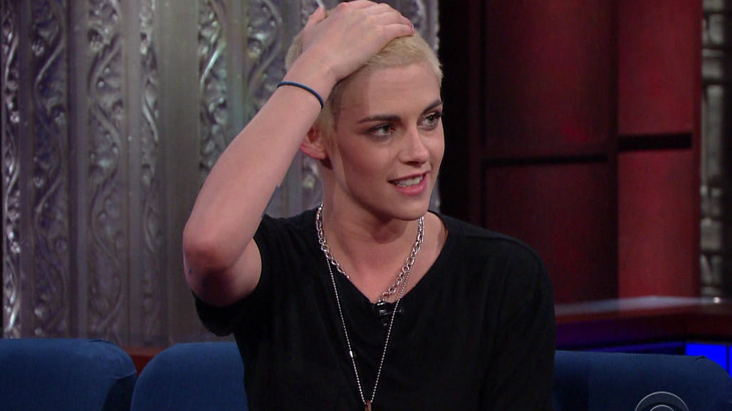 Kristen Stewart during an appearance on CBS's 'The Late Show with Stephen Colbert.' Kristen promotes the movie 'Personal Shopper.'Featuring: Kristen StewartWhere: United StatesWhen: 10 Mar 2017Credit: Supplied by WENN.com**WENN does not claim any own