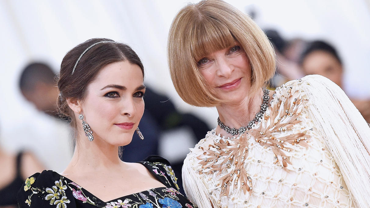 Bee Shaffer und ihre Mutter Anna Wintour