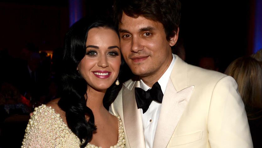 Katy Perry und John Mayer bei den Grammy Awards 2013