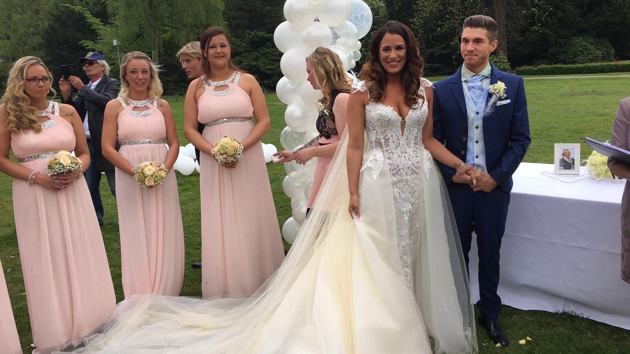 Joey Heindle Hat Geheiratet So War Die Hochzeitsfeier
