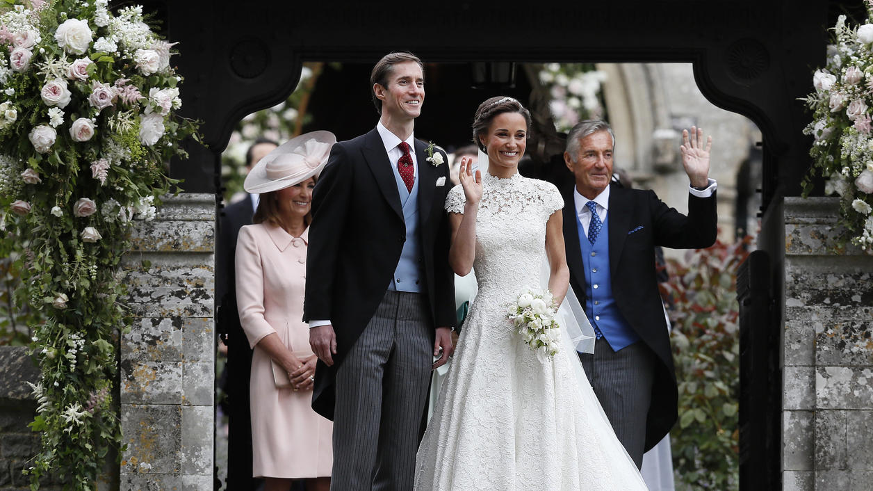 Hochzeit Von Pippa Und James Matthews Tischtennis Auf Der Fast