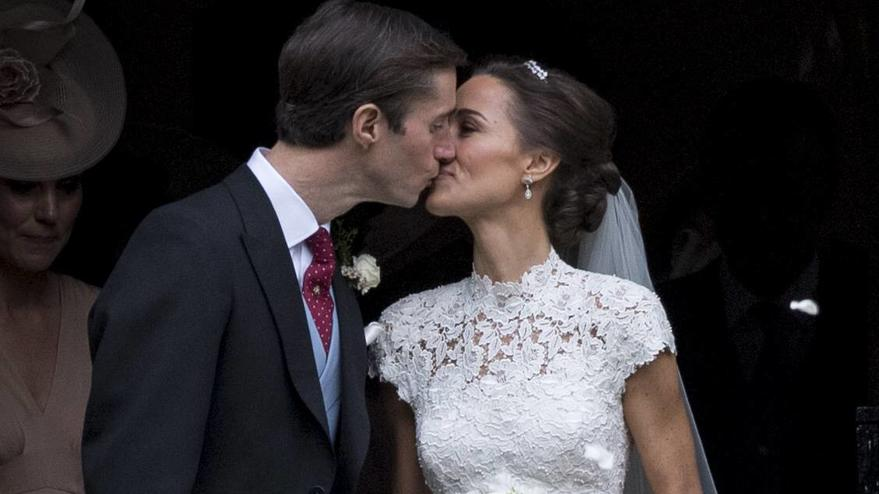 Themen der Woche 217795 Papixs / Starface 2017-05-20 Englefield Royaume Uni Mariage de Pippa Middleton & James Matthews. PAP05171700 PAP05171700 20 May 2017. Pictured: Pippa Middleton James Matthews The wedding of Pippa Middleton and James Matthews a