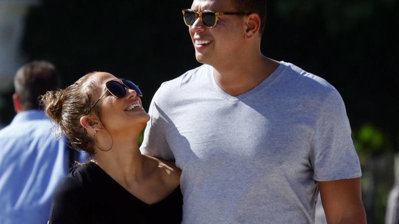 Jennifer Lopez und Alex Rodriguez in Paris
