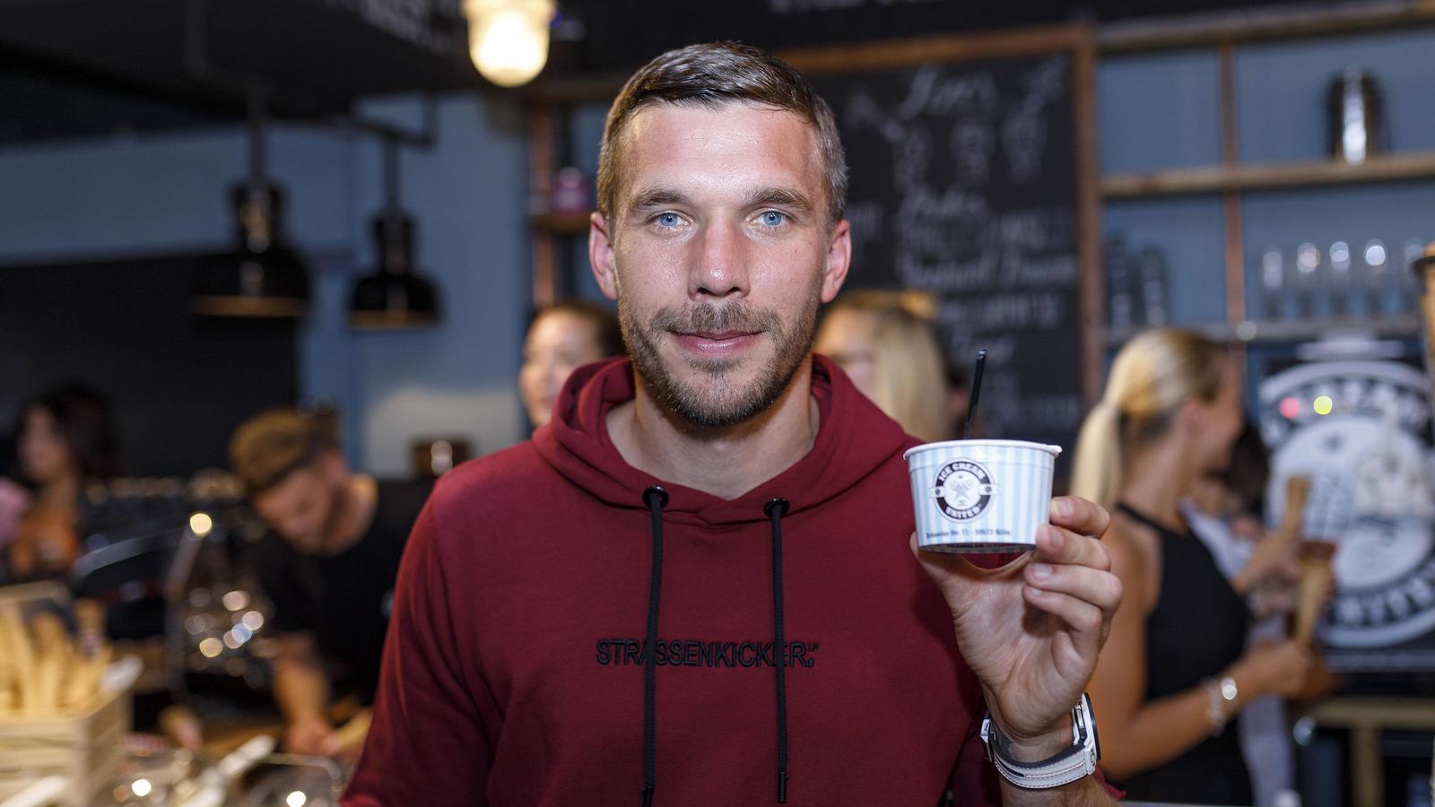 Lukas Podolski Eis