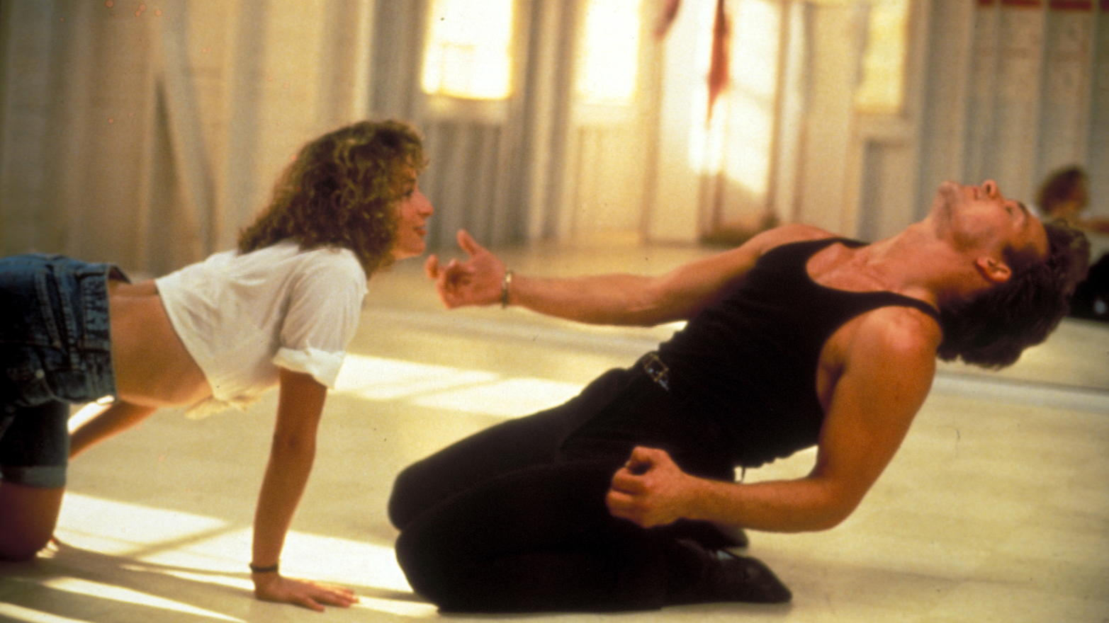 Jennifer Grey und Patrick Swayze in 'Dirty Dancing'.